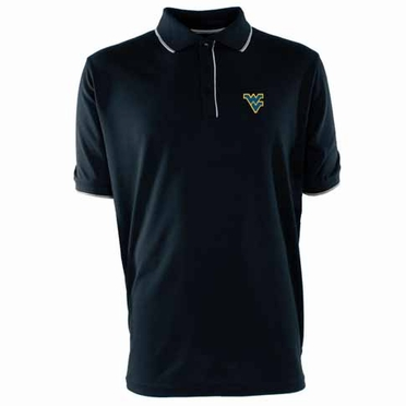 West Virginia Mens Elite Polo Shirt (Team Color: Navy)