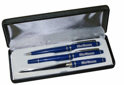 West Virginia Engraved Pen Set