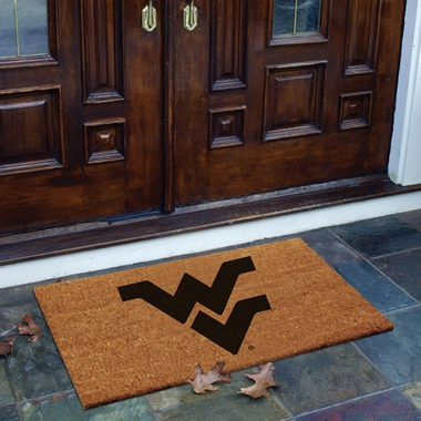 West Virginia Flocked Coir Doormat