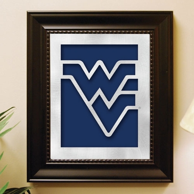 West Virginia Framed Laser Cut Metal Wall Art
