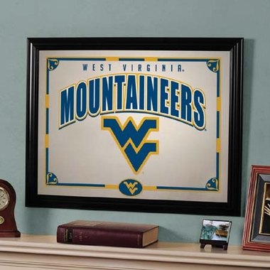 West Virginia Framed Mirror