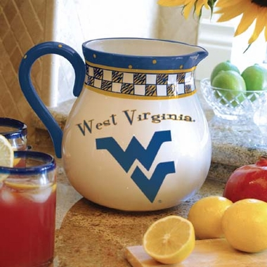 West Virginia Gameday Ceramic Pitcher
