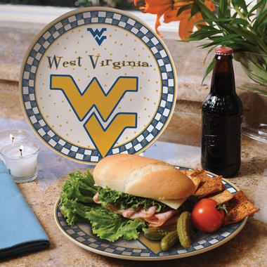West Virginia Gameday Ceramic Plate