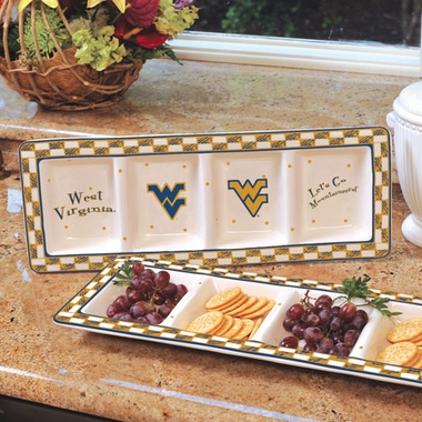 West Virginia Gameday Relish Tray