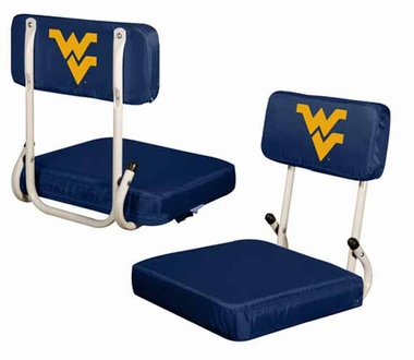 West Virginia Hard Back Stadium Seat