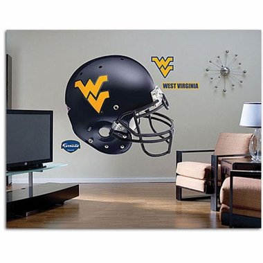 West Virginia Helmet Fathead Wall Graphic
