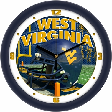 West Virginia Helmet Wall Clock