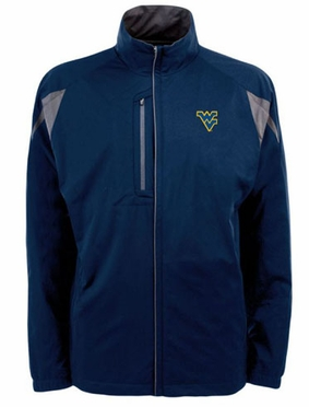 West Virginia Mens Highland Water Resistant Jacket (Team Color: Navy)