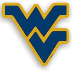 West Virginia Individual Car Magnet