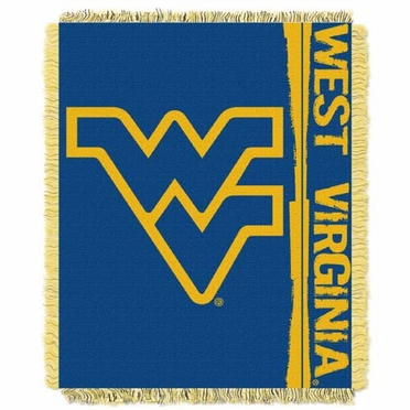 West Virginia Jacquard Woven Throw Blanket