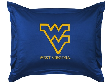 West Virginia Jersey Material Pillow Sham