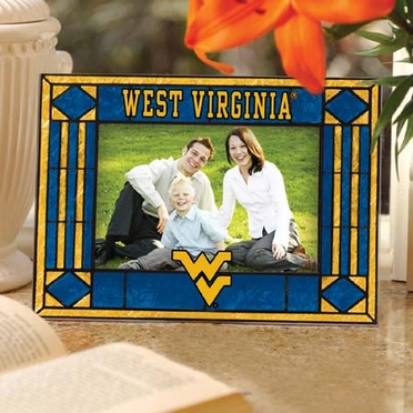 West Virginia Landscape Art Glass Picture Frame