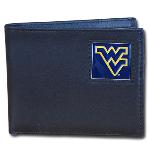 West Virginia Leather Bifold Wallet