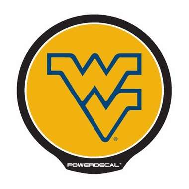 West Virginia Mountaineers Light Up Paower Decal