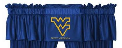 West Virginia Logo Jersey Material Valence