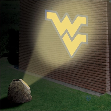 West Virginia Logo Projection Rock