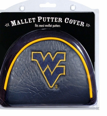West Virginia Mallet Putter Cover