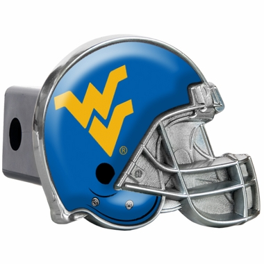 West Virginia Metal Helmet Trailer Hitch Cover