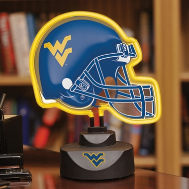 West Virginia Neon Display Helmet