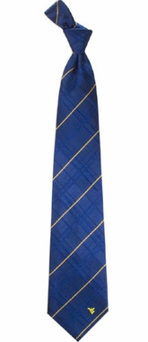 West Virginia Oxford Stripe Woven Silk Necktie