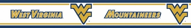 West Virginia Peel and Stick Wallpaper Border