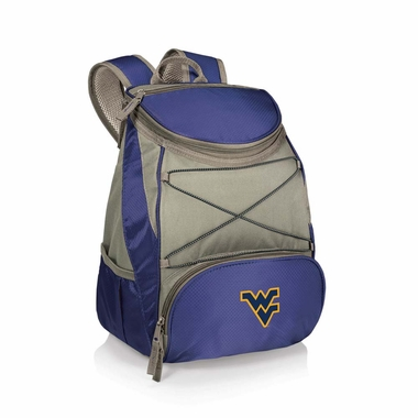 West Virginia PTX Backpack Cooler (Navy)