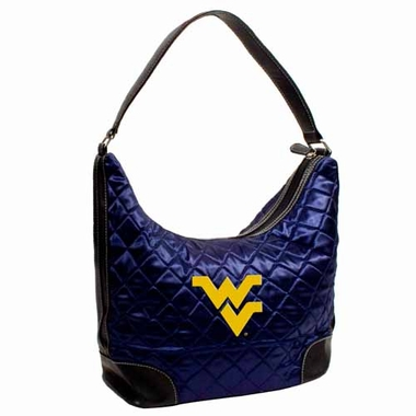 West Virginia Quilted Hobo Purse