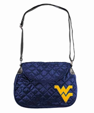 West Virginia Quilted Saddlebag