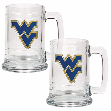 West Virginia Set of 2 15 oz. Tankards