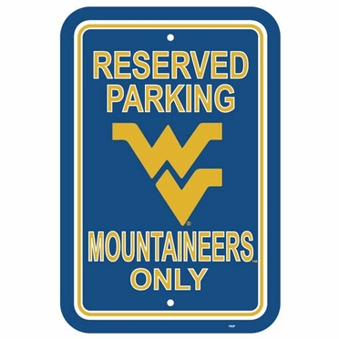 West Virginia Plastic Parking Sign (P)
