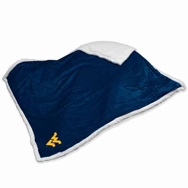 West Virginia Sherpa Blanket