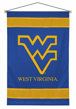 West Virginia SIDELINES Jersey Material Wallhanging