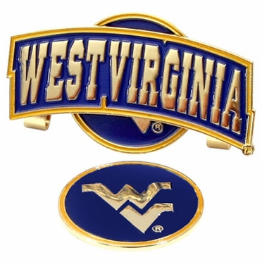 West Virginia Slider Clip With Ball Marker