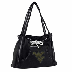 West Virginia Sport Noir Hoodie Purse