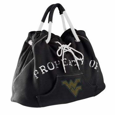 West Virginia Sport Noir Hoodie Tote