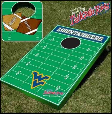 West Virginia Tailgate Toss Cornhole Beanbag Game