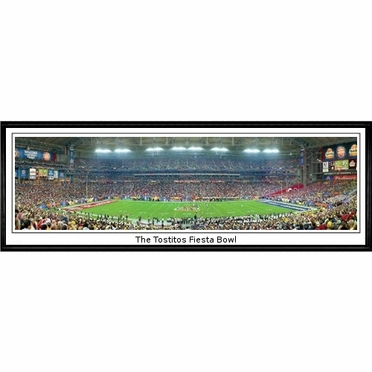 West Virginia The Tostitos Fiesta Bowl Framed Panoramic Print