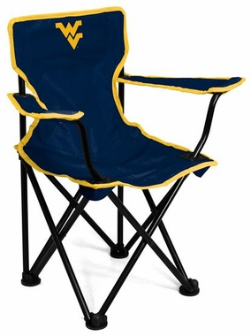 West Virginia Toddler Folding Logo Chair