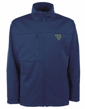 West Virginia Mens Traverse Jacket (Team Color: Navy)