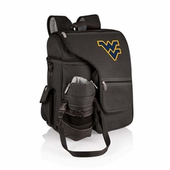 West Virginia Turismo Backpack (Black)
