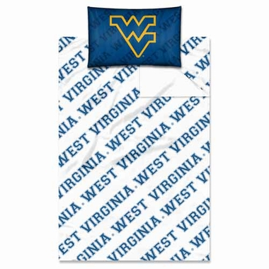West Virginia Twin Sheet Set