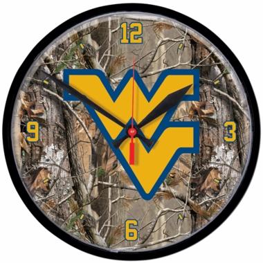 West Virginia Wall Clock (Realtree)