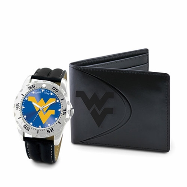 West Virginia Watch and Wallet Gift Set