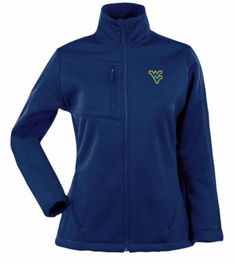 West Virginia Womens Traverse Jacket (Team Color: Navy)