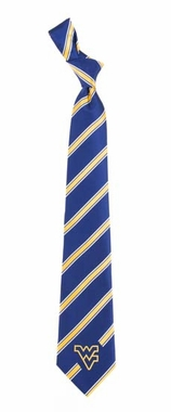 West Virginia Woven Poly 1 Necktie