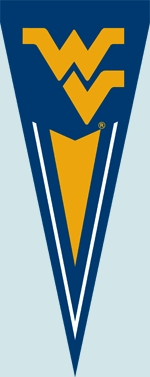 West Virginia Yard Pennant