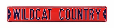 Wildcat Country Street Sign