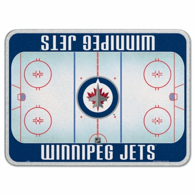 Winnipeg Jets 11 x 15 Glass Cutting Board