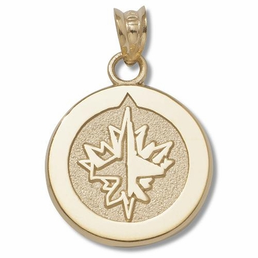 Winnipeg Jets 14K Gold Pendant