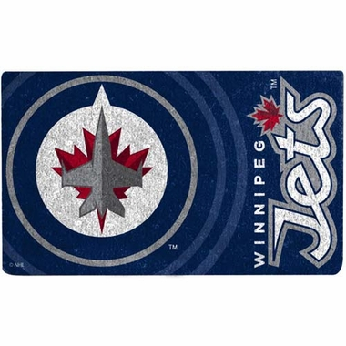 Winnipeg Jets 18x30 Bleached Welcome Mat